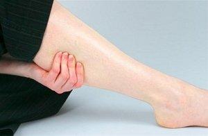 Один из симптомов боли в мышцах ног - это миозит