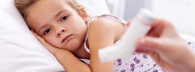 Девочка с бронхиальной астмой