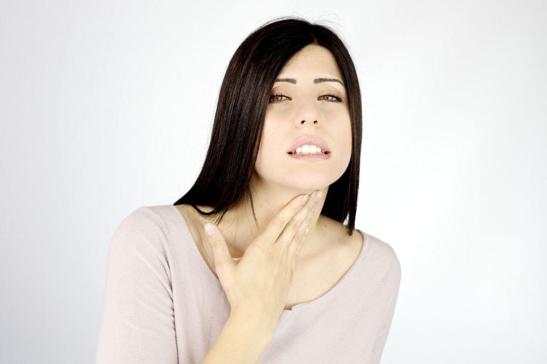 Ингаляции при боли в горле и першении