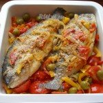 Печёная рыба