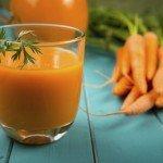 Морковные сок