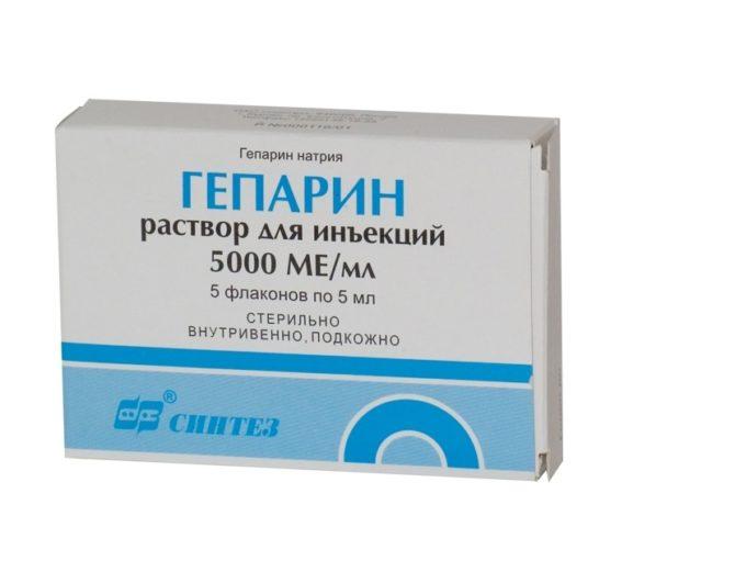 силденафил при тромбозе