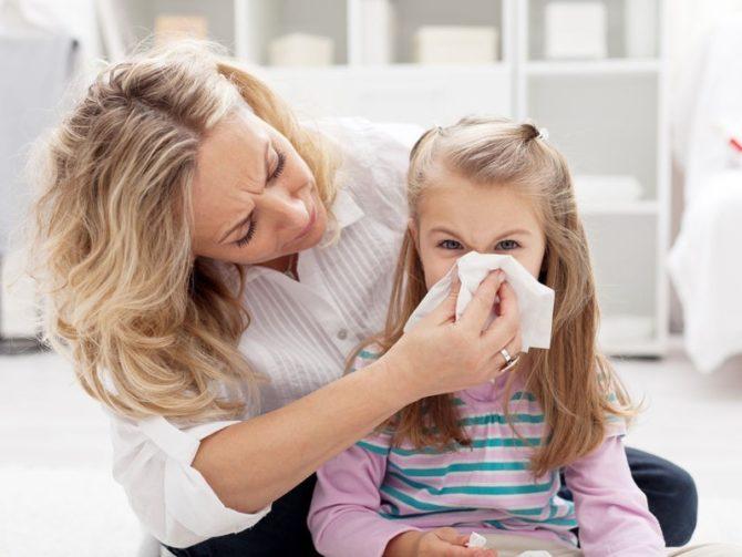 Хронический гайморит у детей