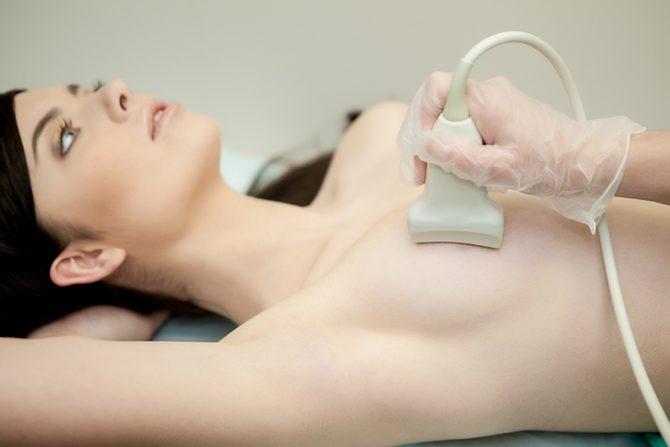 Ультразвуковое обследование молочной железы