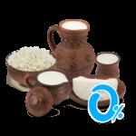 Обезжиренные молочные продукты