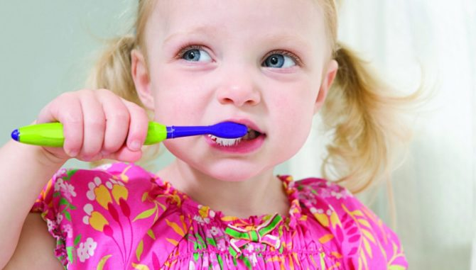 Гигиена ротовой полости ребенка