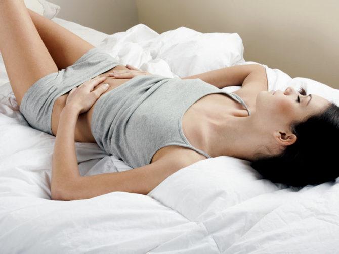 Симптомы острого сальпингита