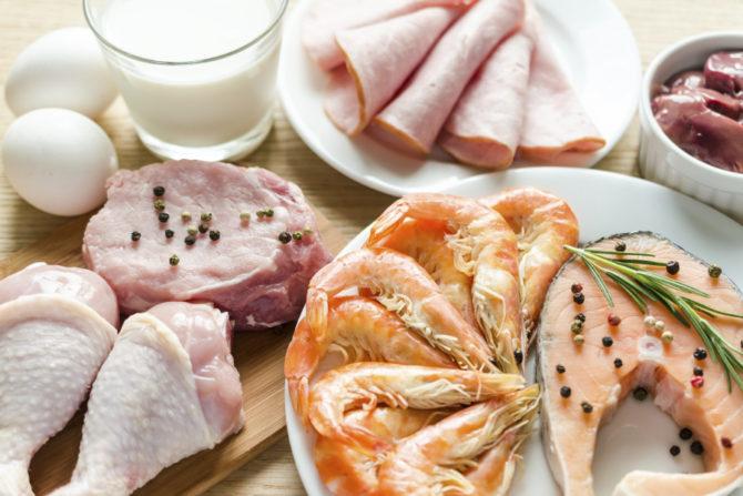 Полноценное питание, богатое белками