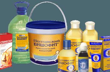 Препараты на основе бишофита