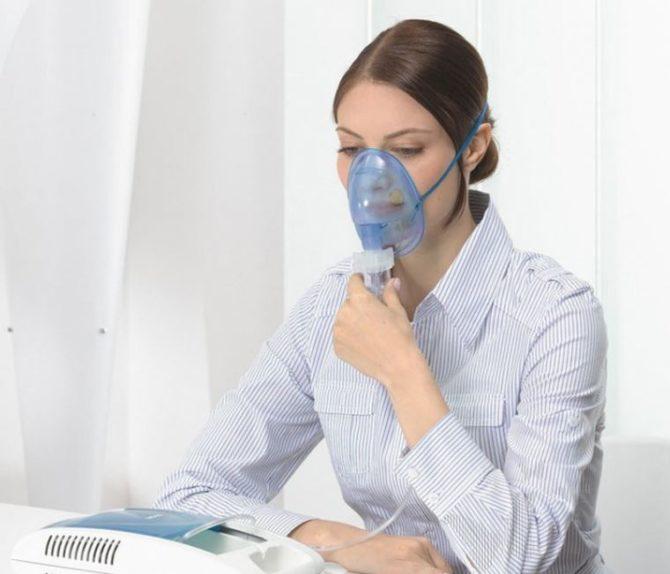 Ингаляция при хроническом ларингите