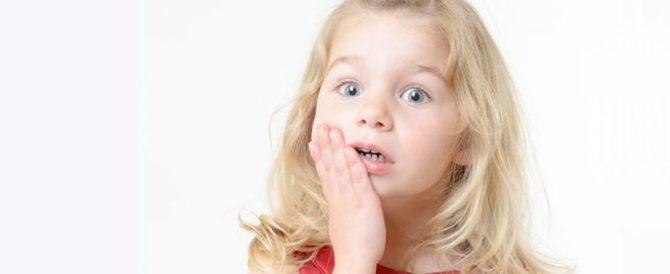 Боль в мышцах челюсти у ребёнка