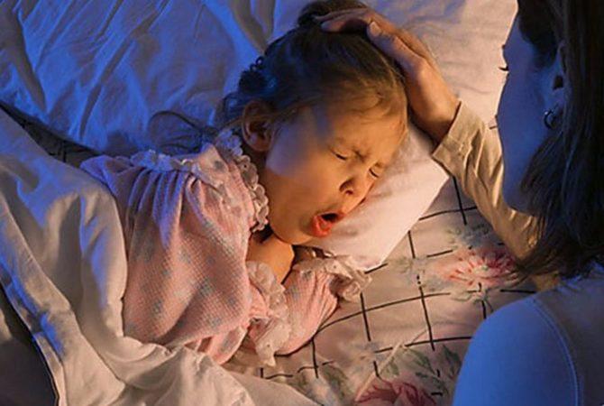 Симптомы стенозирующего ларингита у ребёнка
