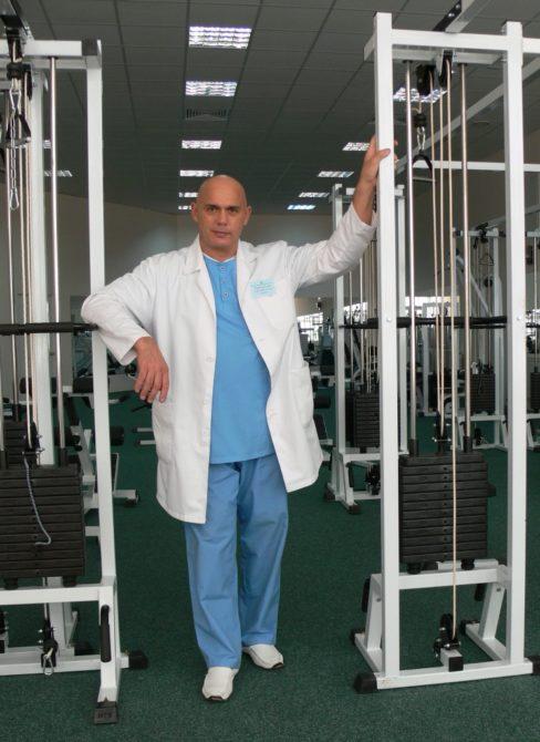 Тренажёр Бубновского и сам доктор