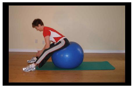 Растяжка спины и ягодичных мышц