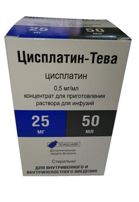 Цисплатин-Тева