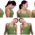 Упражнения на шейный отдел