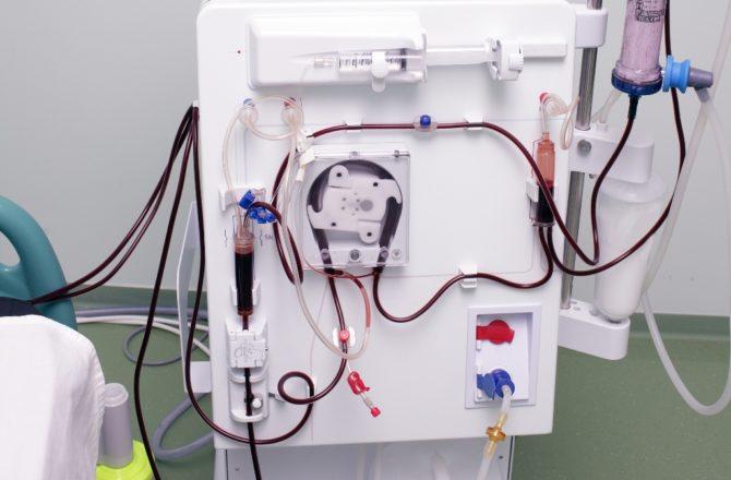 Аппарат для гемодиализа