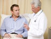 Человек на приёме у врача