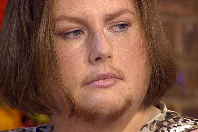 Женщина с внешностью мужчины