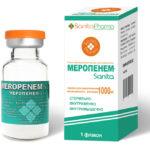 Антибиотик группы карбапенемов Меропенем