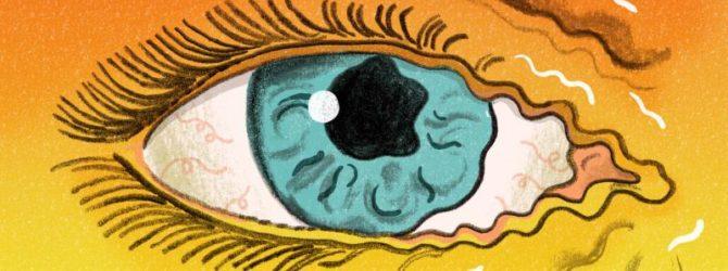 Тик глаза