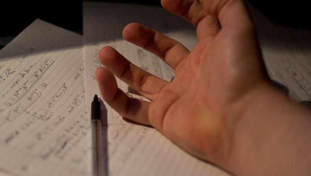 Спазм кисти во время письма (писчий спазм)