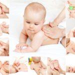 Массаж для маленьких детей
