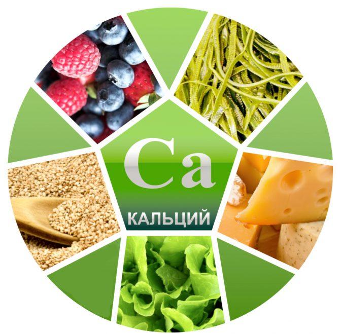 кальций и продукты