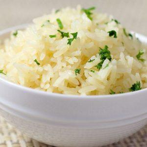 диетический рис с овощами